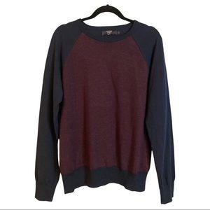 J CREW M merino wool men's sweater